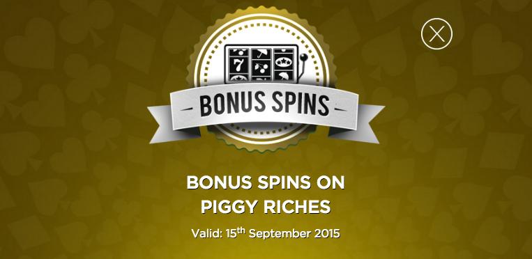 mr green piggy riches