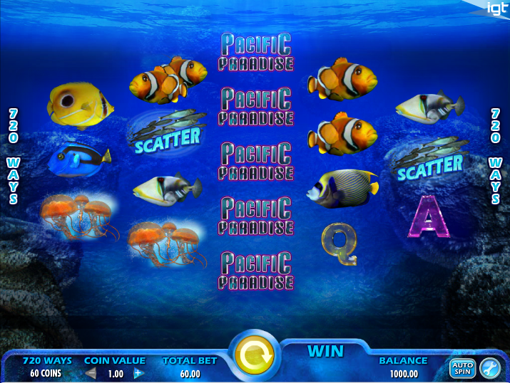 Pacific Paradise Slot Machine - Play for Free Online