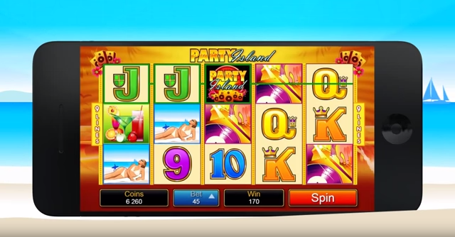 Party Island Slots - Review and Free Online Game