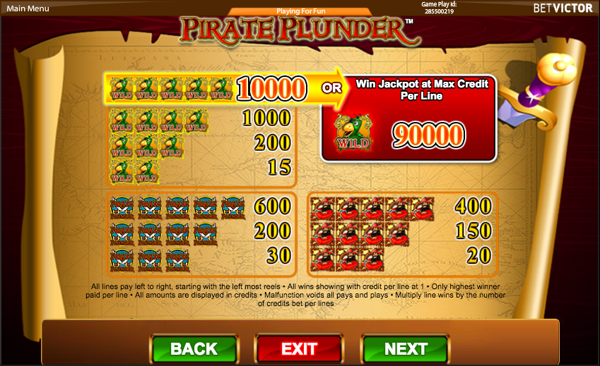 Pirate Plunder Slot - Play Free Cadillac Jack Games Online