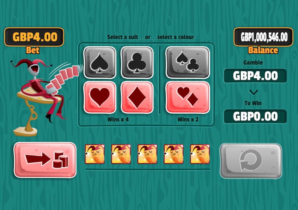 poker riches gamble screen