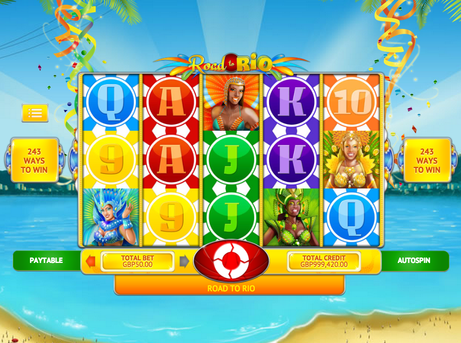 Road to Rio Slots - Try this Online Game for Free Now
