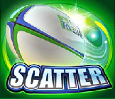 rugby star scatter
