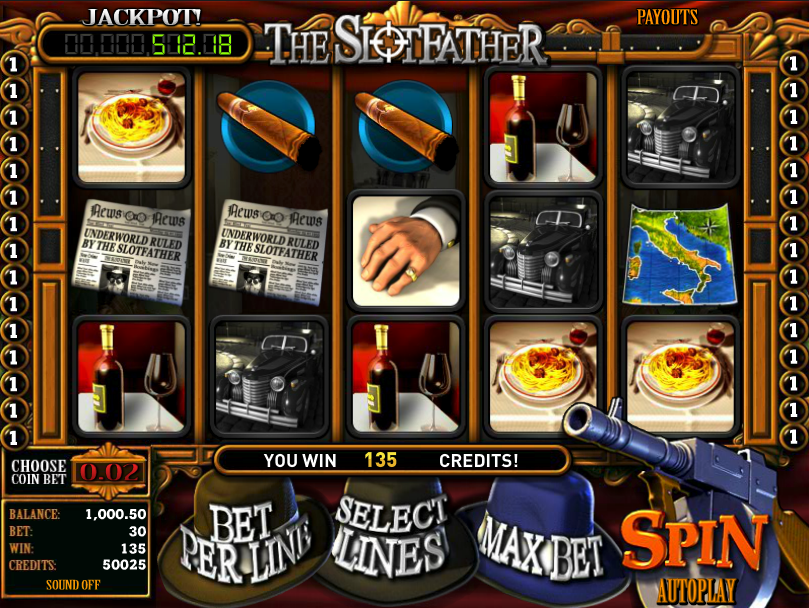 The Slotfather - Play Our Free Slotfather Slots Game Here