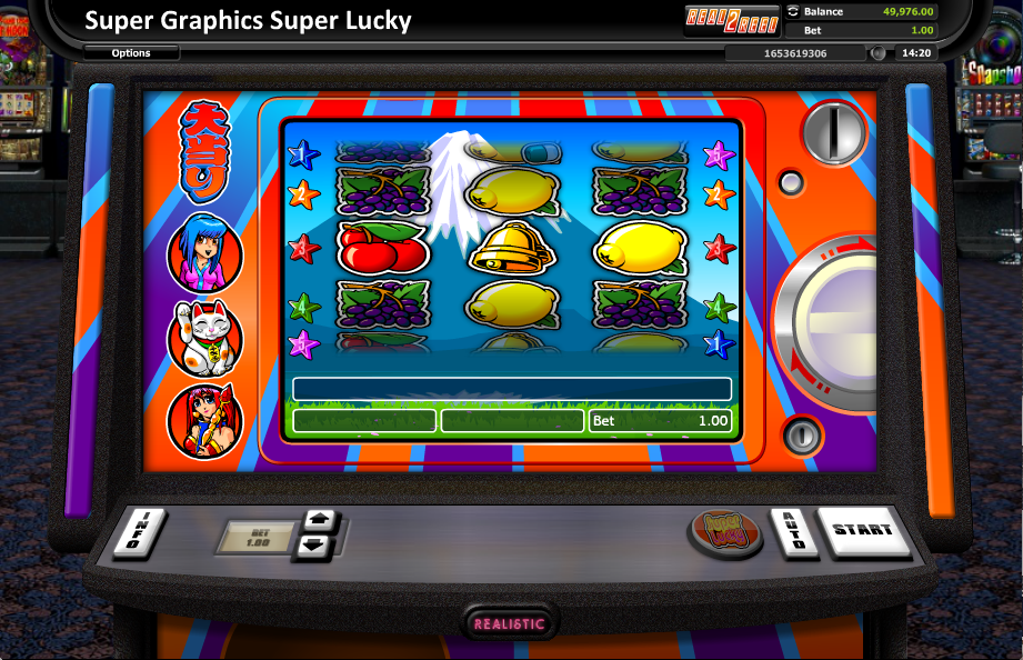 super graphics super lucky slot