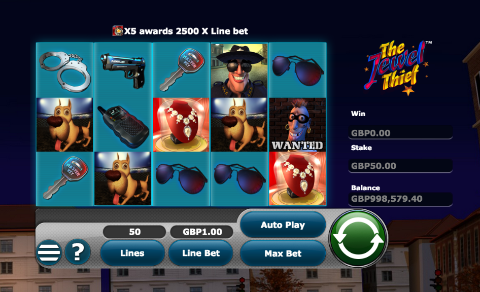 the jewel thief screenshot