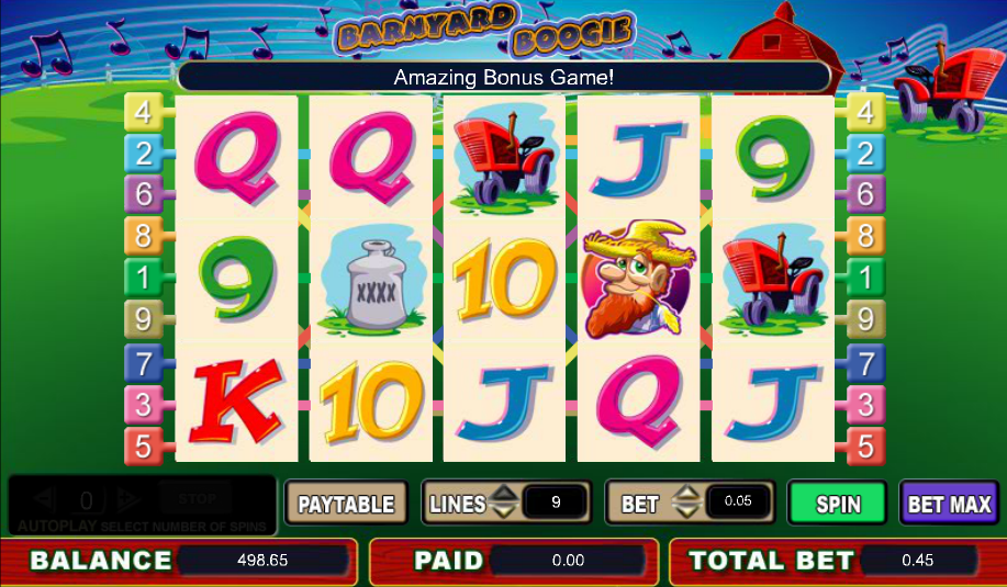 Barnyard Boogie Slot Machine - Play Slots Online for Free