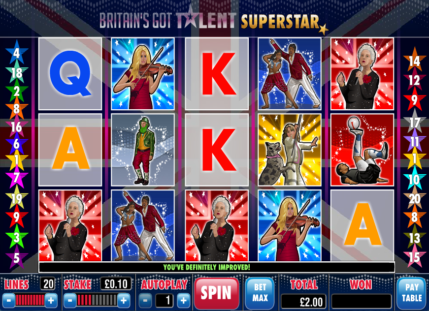 britains got talent superstar screenshot