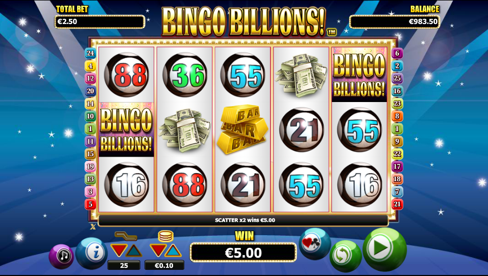 bingo billions! screenshot