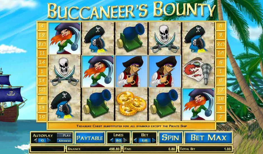 Hasil gambar untuk slotBuccaneer's Bounty