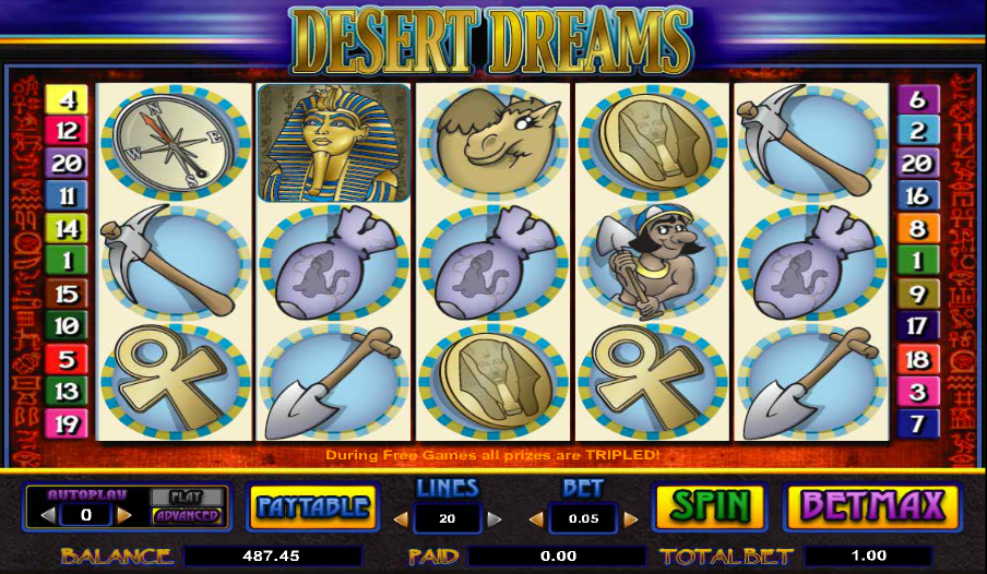 desert dreams slot