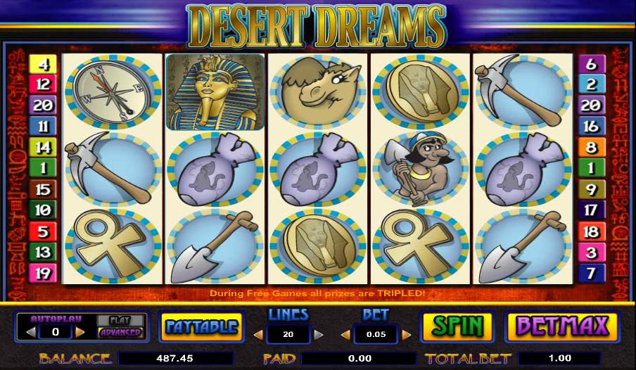 desert dreams slot