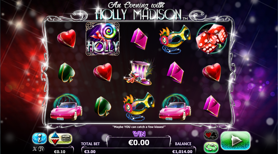 evening with holly madison slot