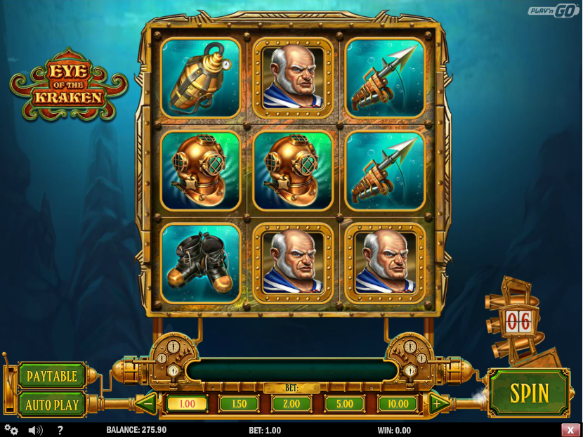 Eye Of The Kraken Slot - Play Online for Free Instantly