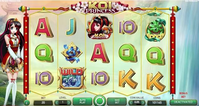 koi princess preview