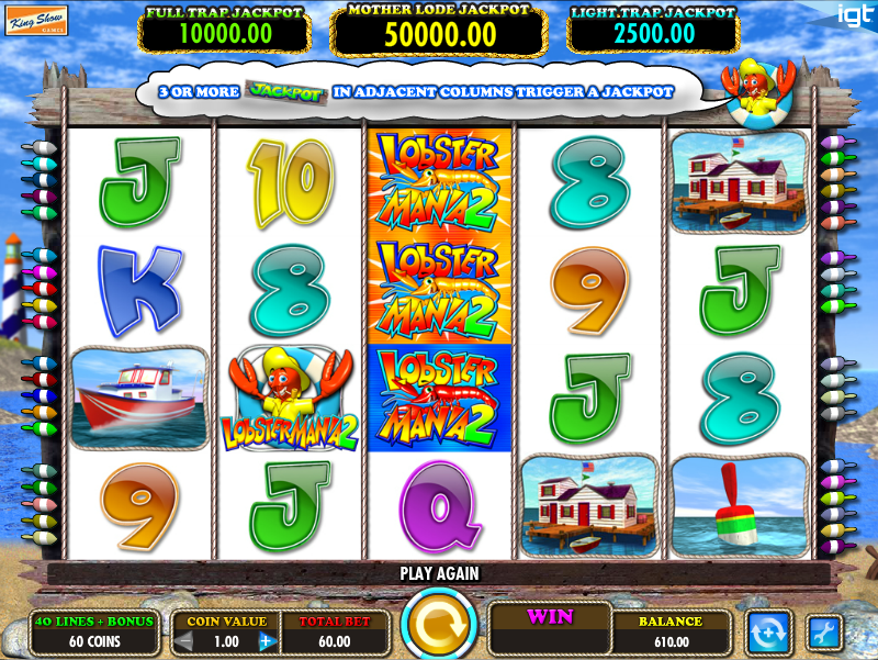 lobster mania 2 slot