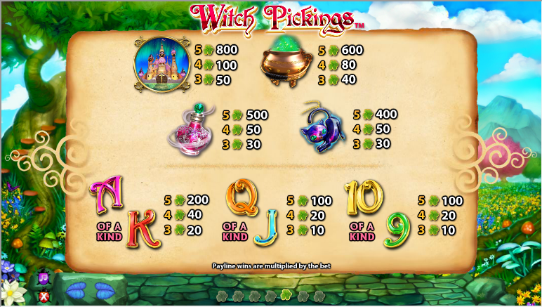 Witch Pickings Slot - Play Online & Win Real Money