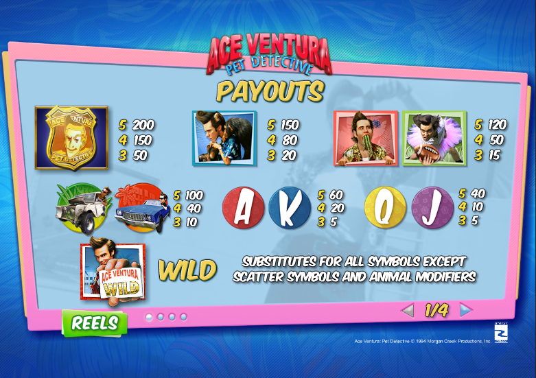 Play Ace Ventura Online Slots at Casino.com New Zealand
