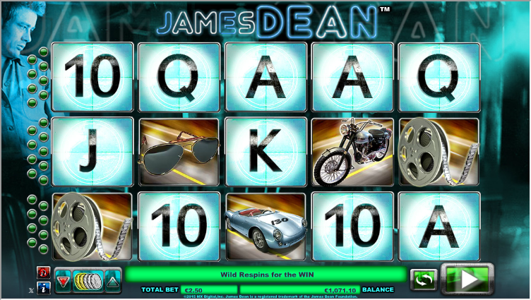 James Dean Dice Slot - Play Online for Free or Real Money