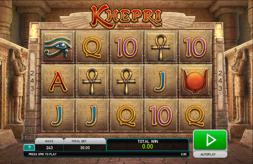 Khepri The Eternal God Slot - Play Online for Free Instantly