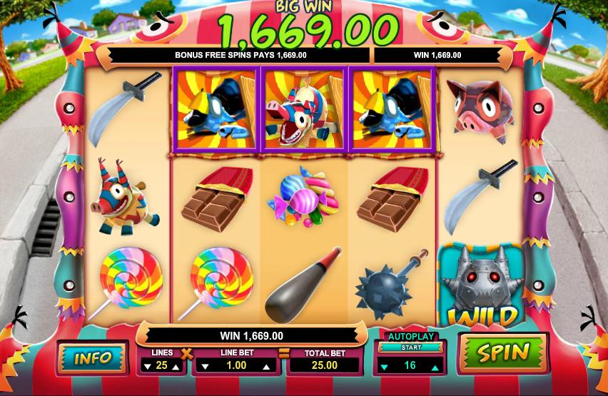 Willy wonka slot machine for sale
