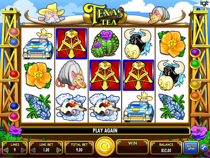 Texas tea online gaming casino brand casino deposit new no promotion rtg