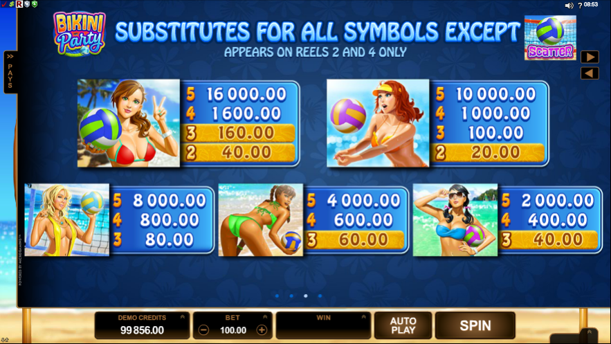 Scatter Beach Party Slot - Play Online for Free Money