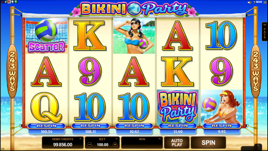 free online casino video slots beach party spiele