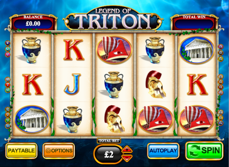 Legend Of Triton Slot Machine