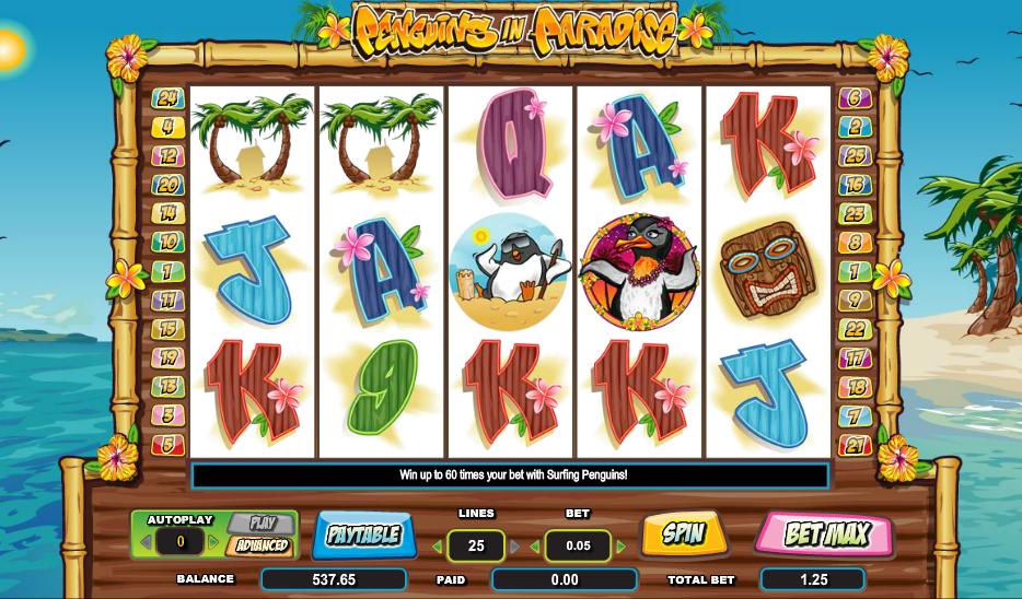 Penguins in Paradise Slot Machine