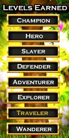 nordic heroes levels