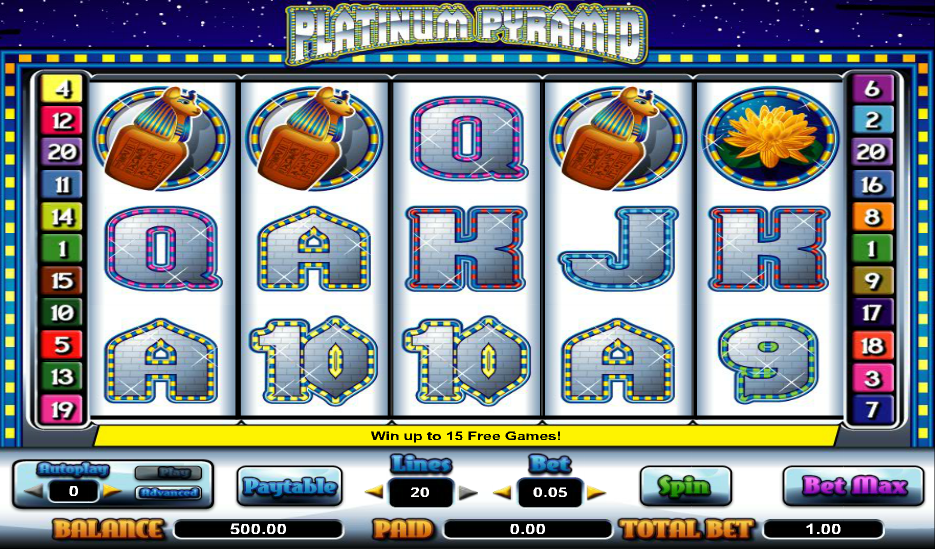 Pyramid Bonanza Slots - Free to Play Online Casino Game