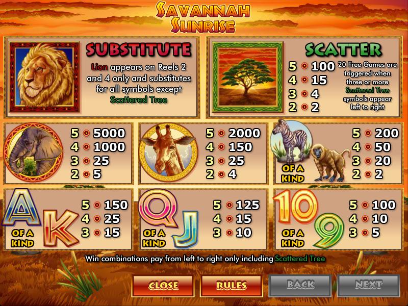 Sunrise Slots Casino