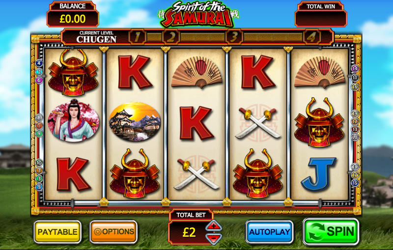Spirit of the Samurai Slot - Review and Free Online Game