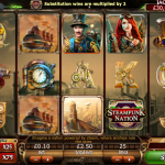 Steampunk Nation Slots Review