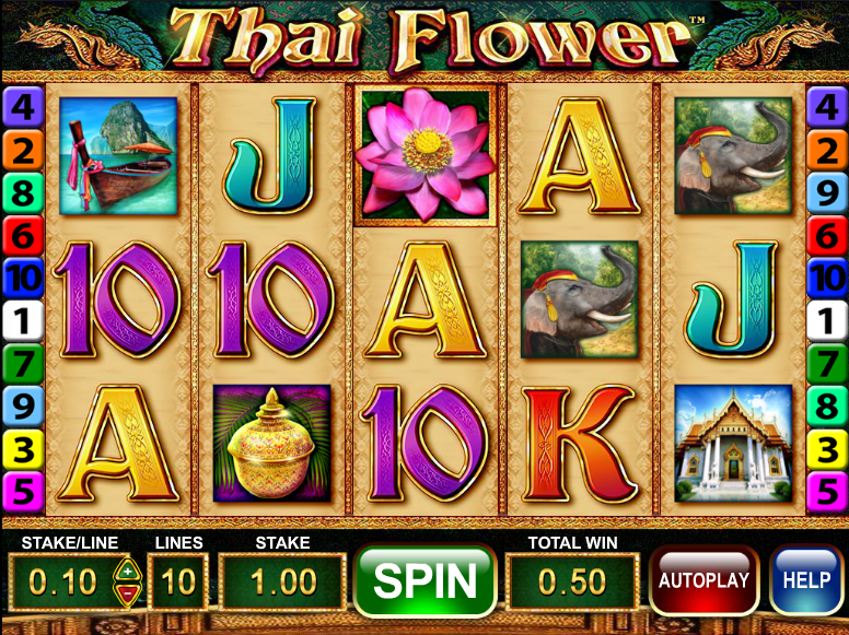 thai flower screenshot