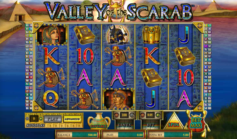 Spiele Valley Of The Scarab - Video Slots Online