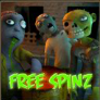 zombie rush free spins