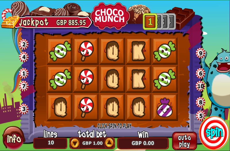 choco munch screenshot