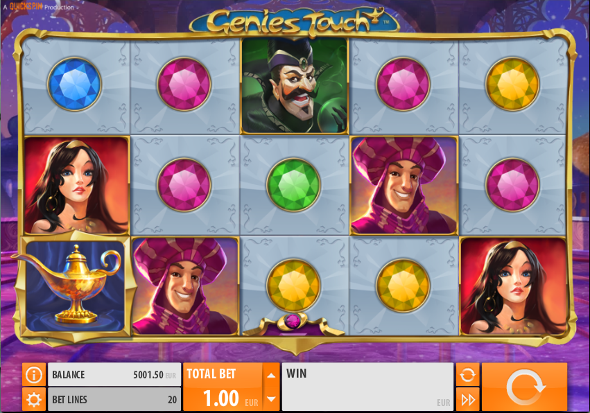 The Genie's Touch slot has the touch of magic at Casumo