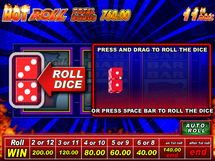hot rolls super time pay casino