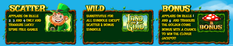 land of gold bonus