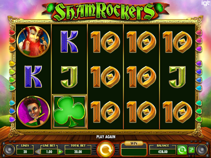 shamrockers eire to rock casino