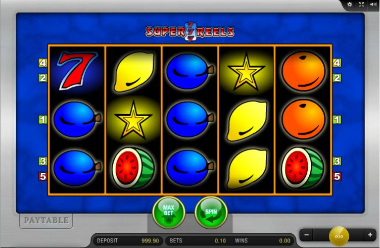 Super Lucky Reels™ Slot Machine Game to Play Free in iSoftBets Online Casinos