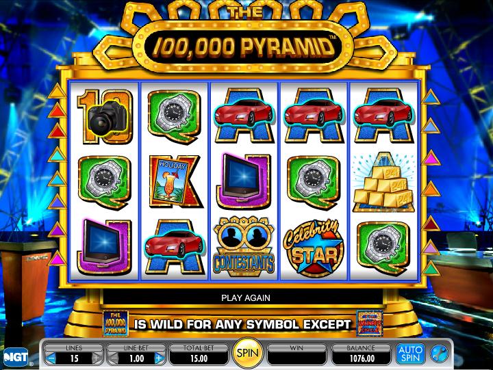 Pyramid slots