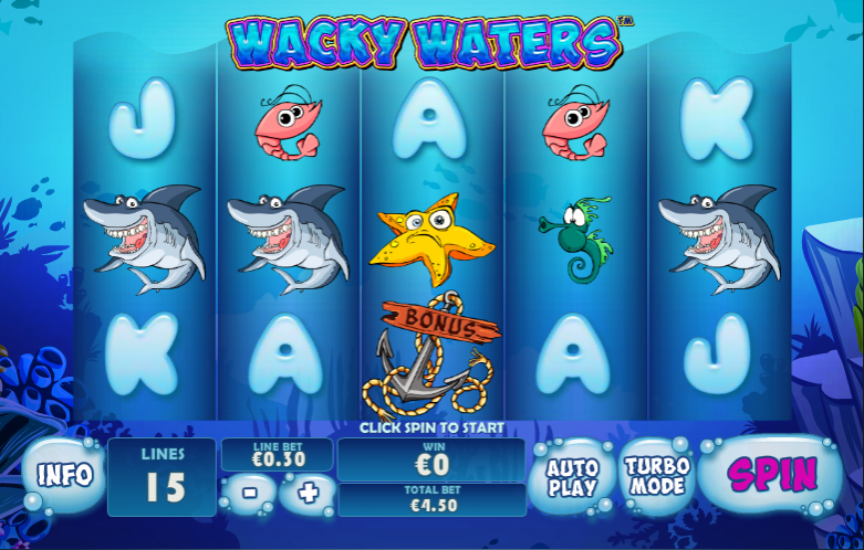 wacky waters screenshot