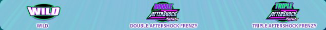 aftershock frenzy symbols