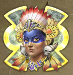 aztec princess scatter