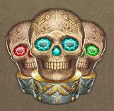 aztec princess skull
