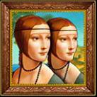 double da vinci portrait